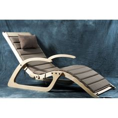 Sunbed True – designer products on Take & Live - Armchair Ideas Plywood Chair, Plywood Furniture, Unique Furniture, Sofa Furniture, Luxury Furniture, Furniture Design, Outdoor Furniture, Diy Woodworking, Chair Design