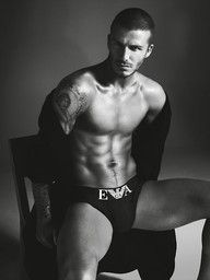 David Beckham. yes please