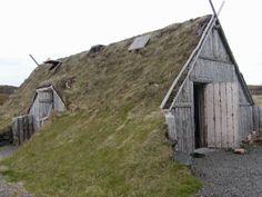 Viking dwelling.