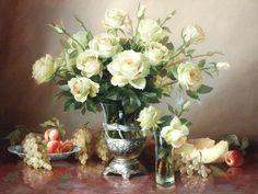 Николаев Юрий. Натюрморт с розами