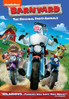 Barnyard on DVD from d. Directed by Steve Oedekerk. Staring Kevin James, David Koechner, Wanda Sykes and Sam Elliott. More Comedy, Family and Children's DVDs available @ DVD Empire. Party Animals, Animal Party, George Of The Jungle, The Barnyard, Nickelodeon, Instant Video, Family Movies, Children Movies, Netflix Movies