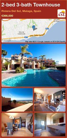 2-bed 3-bath Townhouse in Riviera Del Sol, Malaga, Spain ►€366,000 #PropertyForSaleInSpain