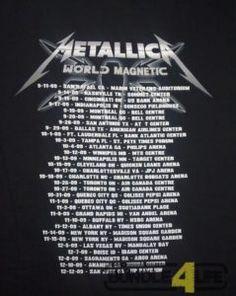 Metallica tour dates and concert tickets - Comfort Ticket Metallica Albums, Hard Rock Music, B 52s, Concert Tickets, Classic Rock, Dating, Tours, Hard Rock