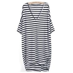 Oversized Stripe Dress – Boho Buys