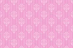 pink seamless damask pattern by kio on @creativemarket
