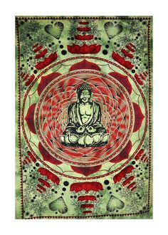 BUDDHA TWIN SIZE  TAPESTRY via BOHOSHOP9. Click on the image to see more!