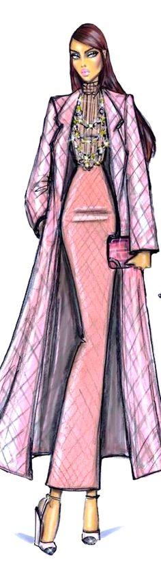 Hayden Williams Fashion Illustration | House of Beccaria~