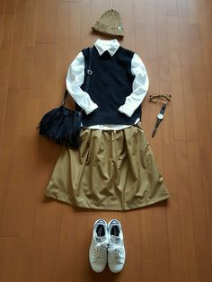 IENAのスカートを使った*kumiko*さんのコーディネートです。│おはようございます~今日は昨日お...