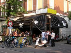 Fans of Lonely Planet choosed De Witte Aap (The White Monkey) in Rotterdam as The Greatest Bar Of The World