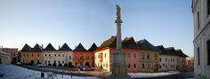 Spišská Sobota, Poprad, Prešov region, Slovakia - panorama