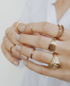 Signet rings: Thumbs up or down?