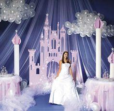 décoration fete princesse
