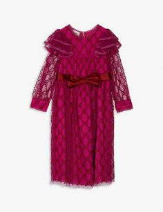 Tulle Dress, Cool Designs, Awards, Kimono Top, Sequins, Gucci Bags, Silk, Raspberry, Collection