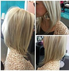 Long Bob Haircuts for Beautiful Women 27 Beautiful Long Bob Hairstyles Shoulder Length Hair Cuts - Hairstyle ideas Angled Bob Hairstyles, Long Bob Haircuts, Straight Hairstyles, Hairstyles 2016, Everyday Hairstyles, Woman Hairstyles, Brunette Hairstyles, Amazing Hairstyles, Celebrity Hairstyles