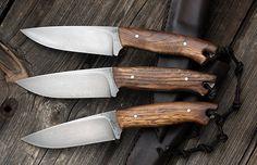 Petr Melichárek knifemaker Strukov, Česká republika (ČZU) - Simple camp knives