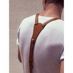 Suspenders are masculine, classy and have a strong sex appeal yet not many opt for this accessory. Here& a complete guide on suspenders for men. Leather Accessories, Fashion Accessories, Leather Suspenders, Brown Suspenders, Braces Suspenders, Moda Fashion, Men's Fashion, Fasion, Fashion News