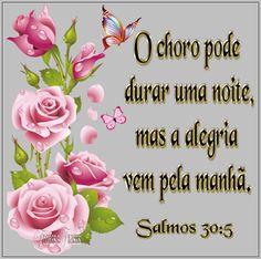 Flores e frases: SALMO 30:5