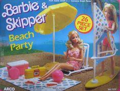 Barbie & Skipper Beach Party Playset w 26 Pieces (1988 Ar... https://www.amazon.com/dp/B003TY9XFM/ref=cm_sw_r_pi_dp_x_d4d8ybXN807CR