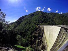 Dam Valle Verzasca #visitticino #myasconalocarno #inlovewithswitzerland…