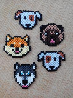 Easy Perler Bead Patterns, Perler Bead Templates, Diy Perler Beads, Hama Beads Minecraft, Perler Bead Art, Perler Bead Disney, Hama Beads Design, Peler Beads, Pixel Art