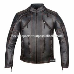 2c239e2a4f0 New design for men s Motorcycle Leather Jacket with Armor cow hide New Mens  Fashion