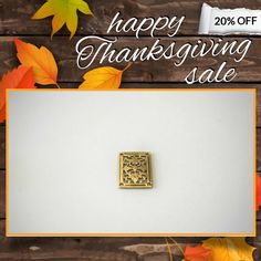 20% OFF on select products. Hurry, sale ending soon!  Check out our discounted products now: https://www.etsy.com/shop/lilczechtreasures?utm_source=Pinterest&utm_medium=Orangetwig_Marketing&utm_campaign=Thanksgiving%20Sale%2011%2F15%2F16%20-   #etsy #etsyseller #etsyshop #etsylove #etsyfinds #etsygifts #loveit #instagood #instacool #shop #shopping #onlineshopping #instashop #musthave #instafollow #photooftheday #picoftheday #love #OTstores #smallbiz #sale #instasale