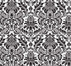 """This ornate damask repeats every 22"""" Vertically and every 23.5"""" horizontally. It is cut from a single sheet of mylar. from Jan Dressler stencils"""