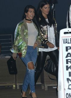 Kourtney Kardashian dined at Nobu in a Gucci Resort 2016 Blooms Print Bomber Jacket: Her jacket was worn with matching shorts on the Resort 2016 runway. Hot! I would definitely love to wake up to this in my closet. Kourt's jacket isn't up for grabs, but you can get other bombers from the iconic Italian […]