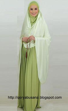 Pray Dress Muslim - Maryam mukena made of materials Hyget Super
