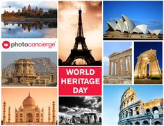 #WorldHeritageDay by UNESCO raises the awareness and need to safeguard the valuable cultural heritage of the world.  #WorldHeritageSites #PhotoConcierge