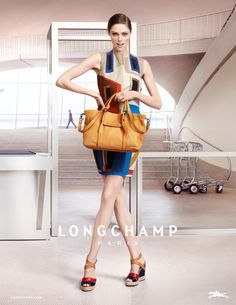 Gorgeous, charming…and my beloved Longchamp 3D!  SS2013 Collection
