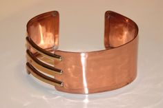 Copper Handmade Choker with Brass Details by borgovin on Etsy, $50.00, 90TL