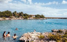 Caleta Buena beach near Playa Giron, Cuba