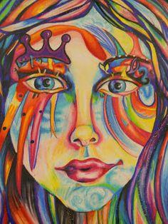 Creative Expressions, High School Art, #Art4Literacy