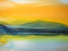 Marja Koskiniemi, Sunset on ArtStack #marja-koskiniemi #art
