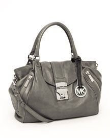 YUM, gray Michael Kors bag.,REPLICA MICHAEL KORS HANDBAGS WHOLESALE