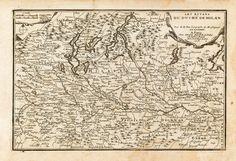 De Fer Nicolas dis. & edit. Ducato di Milano - 1705
