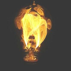 Fire Light Bulb by  House of Antique Hardware