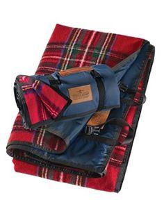 Roll-up Blanket (royal stewart tartan) | Pendleton