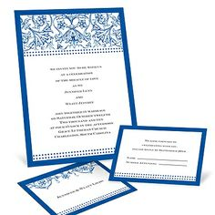 filigree wedding invitations. There's a lot to be done here but I think this is a good start