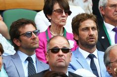 A new #Wimbledon regulation needs to be passed: Bradley Cooper is only allowed entry if accompanied by Gerard Butler. pic.twitter.com/RA1A9Mu9fo