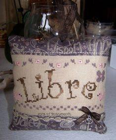 A&B-79 Libre ou Occupé ? Points, Burlap, Reusable Tote Bags, Lavender Color, Bergamot Orange, Hessian Fabric, Jute, Canvas