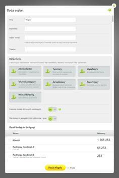 Konta dostępowe - zaprzaszanie współpracowników i przydzielanie uprawnień we FreshMailu.