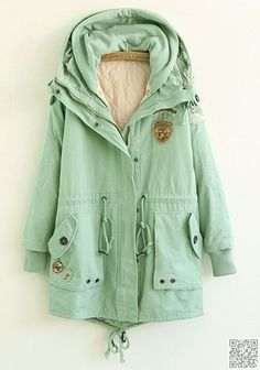 13. Mint #Green Jacket - 25 #Light Spring Jackets You'll Go #Crazy for ... →…