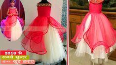 Baby Girl Dresses Diy, Little Girl Pageant Dresses, Baby Girl Frocks, Girls Dresses Sewing, Baby Girl Dress Patterns, Baby Clothes Patterns, Frocks For Girls, Girl Tutu, Fancy Dress Design