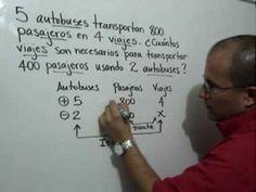 Regla de Tres Compuesta Problema 1: Julio Rios resuelve un problema usando la Regla de Tres Compuesta.
