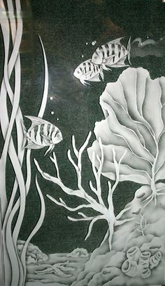 Artfully Yours Glass Studio - etched glass