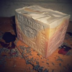 Holidays gift lavender dead sea mud soap #Pinterest