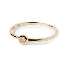 Phalange ring diamond K18 gold  1401-PAR24 e.m. #em #phalangering #midiring #diamond #gold