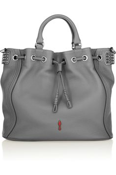 Christian Louboutin|Dompteuse Bucket textured-leather tote